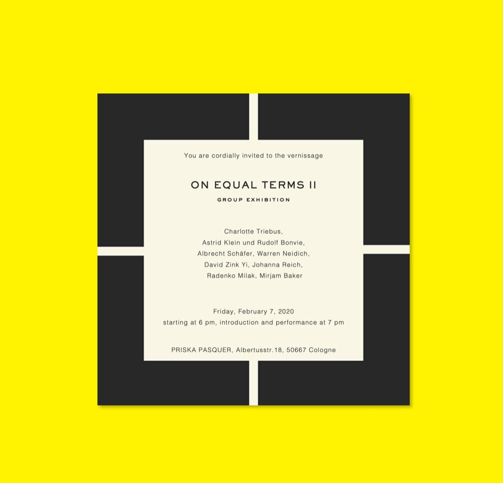 Eventbild für Johanna Reich u.a. /// On equal terms II