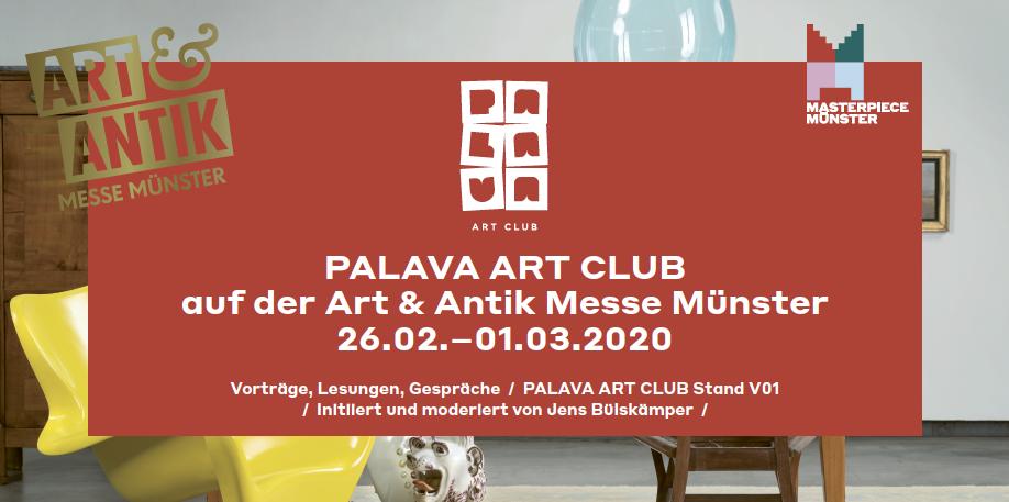Eventbild für Palava Art Club auf der Art & Antik Messe Münster