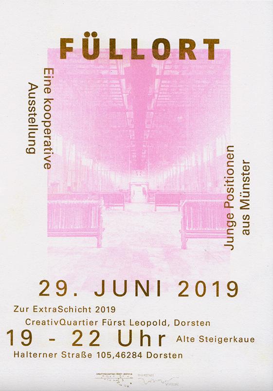 Eventbild für ExtraSchicht 2019 /// Füllort