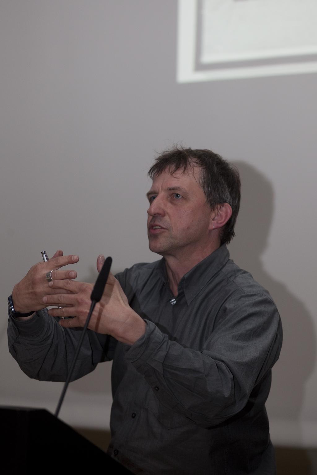 Eventbild für Münster Lectures // Wolfgang Müller, Künstler und Autor, Berlin