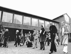 Das Institut an der Lotharinger Straße, bis 1982