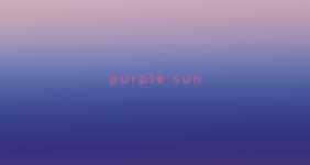 Javkhlan Ariunbold /// purple sun