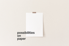 Thomas Musehold /// possibilities on paper