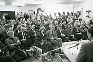 Selbststaendigkeitsfeier Scheibenstrasse 1987