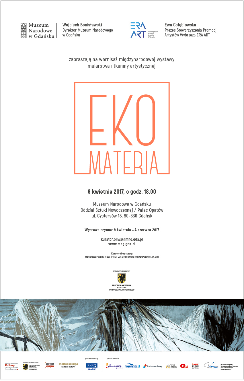 Eventbild für Anetta Küchler-Mocny u.A. // The International Painting and Fabric Exhibition- Eko Materia- Gdansk 2017
