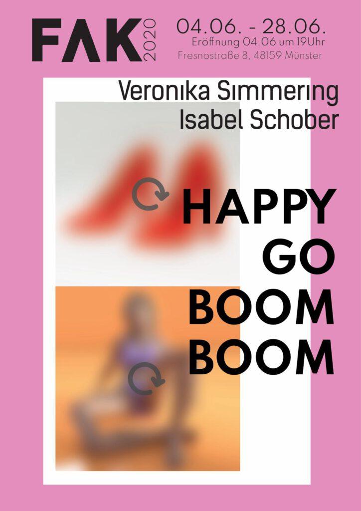 Eventbild für Isabel Schober und Veronika Simmering /// FAK.20 /// HAPPY GO BOOM BOOM