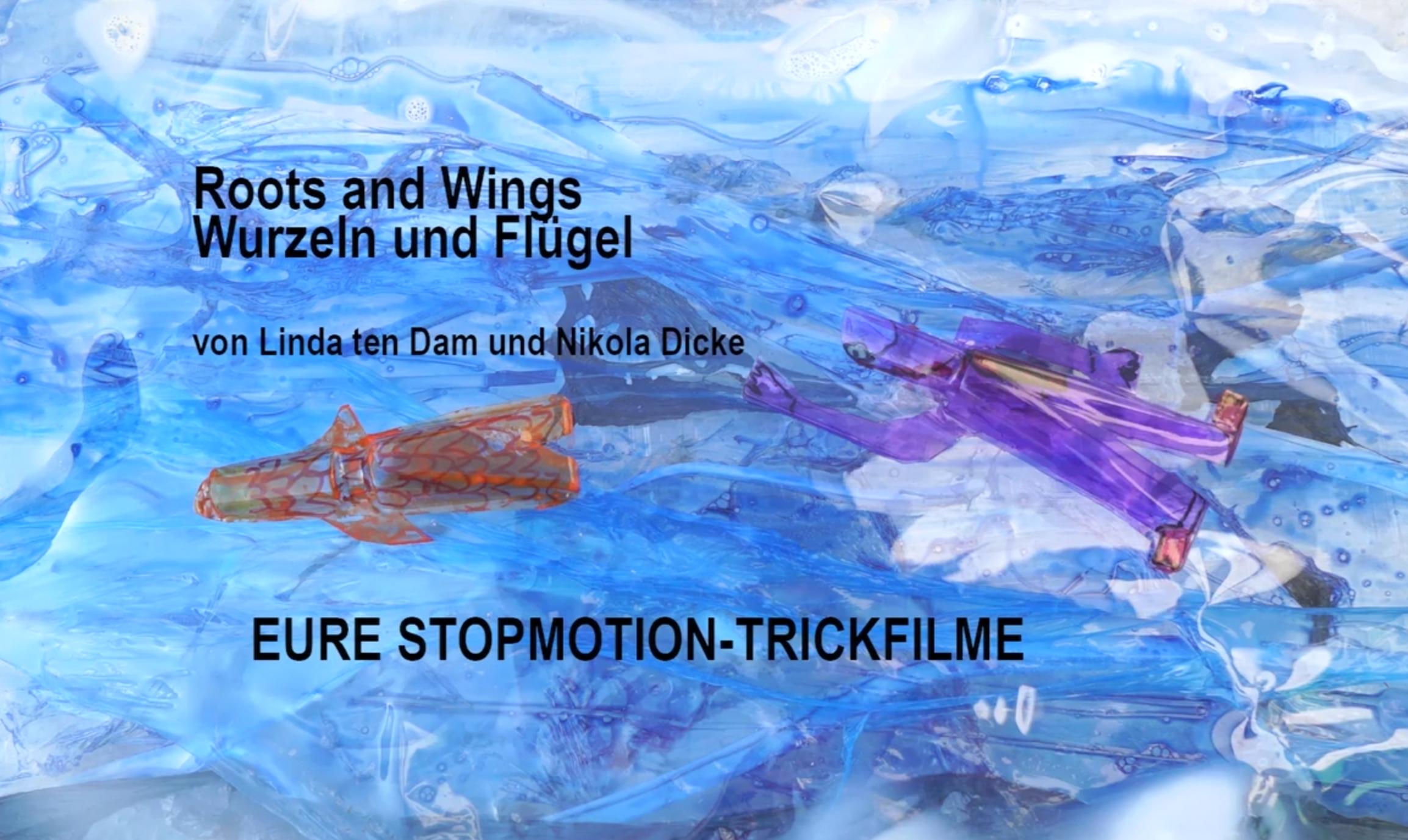 Eventbild für Nikola Dicke mit SiebtklässlerInnen und Lehrerinnen /// Roots and Wings