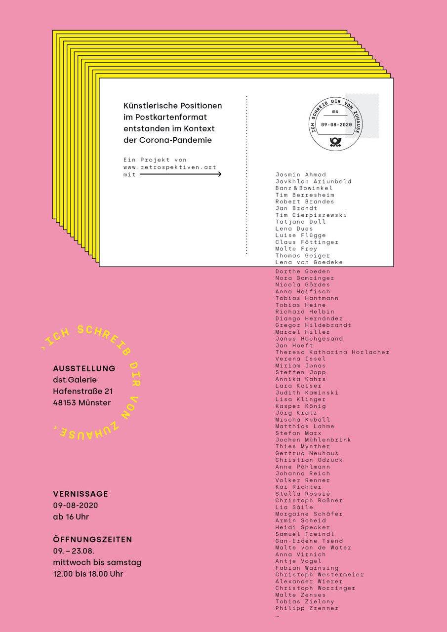 Eventbild für Gertrud Neuhaus, Jörg Kratz u.a. /// Ich schreibe dir von zuhause