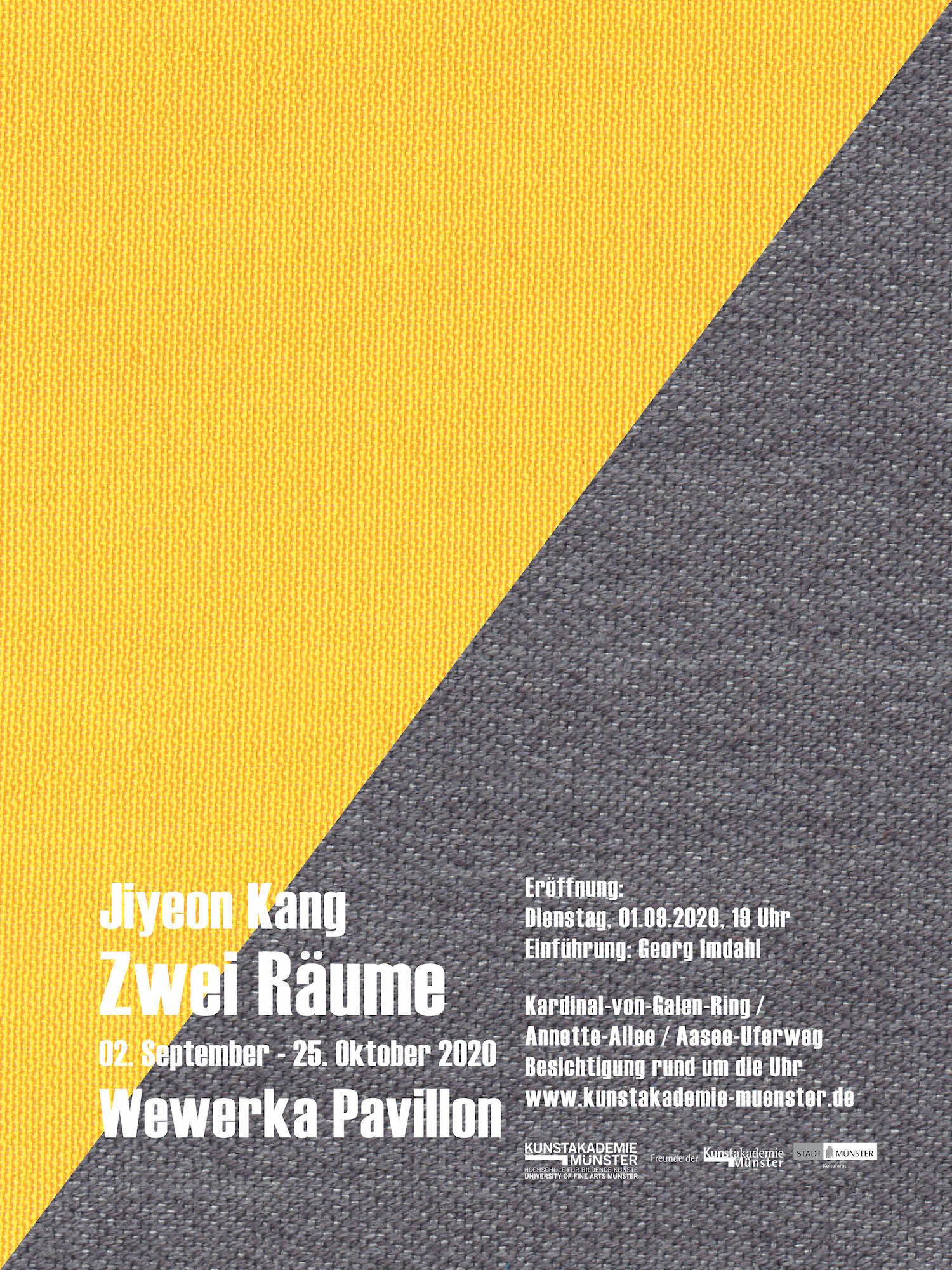 Eventbild für Wewerka Pavillon /// Zwei Räume /// Jiyeon Kang