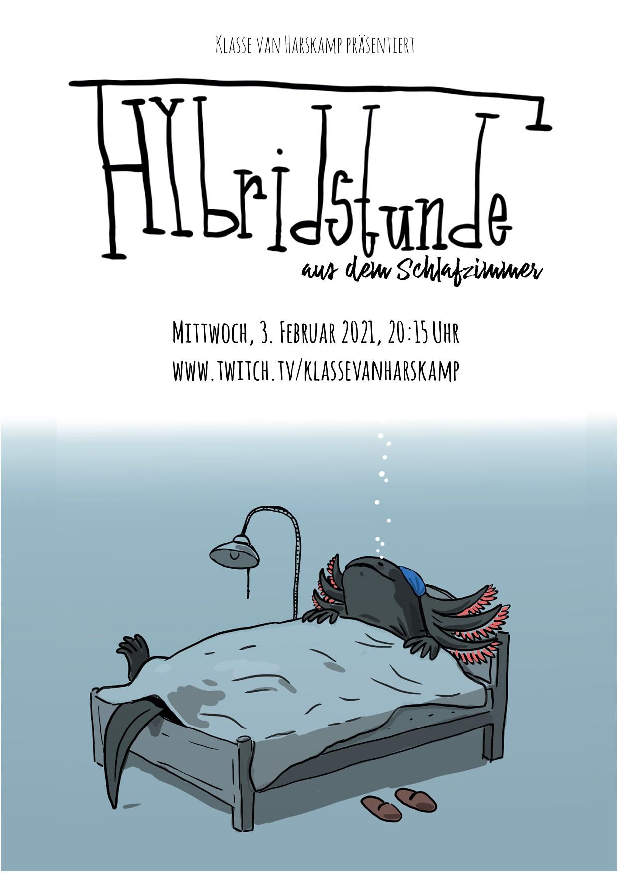 Eventbild für Maria Renée Morales García, Kerstin Hochhaus, Katarina Kloppe, u.a. /// Hybridstunde aus dem Schlafzimmer