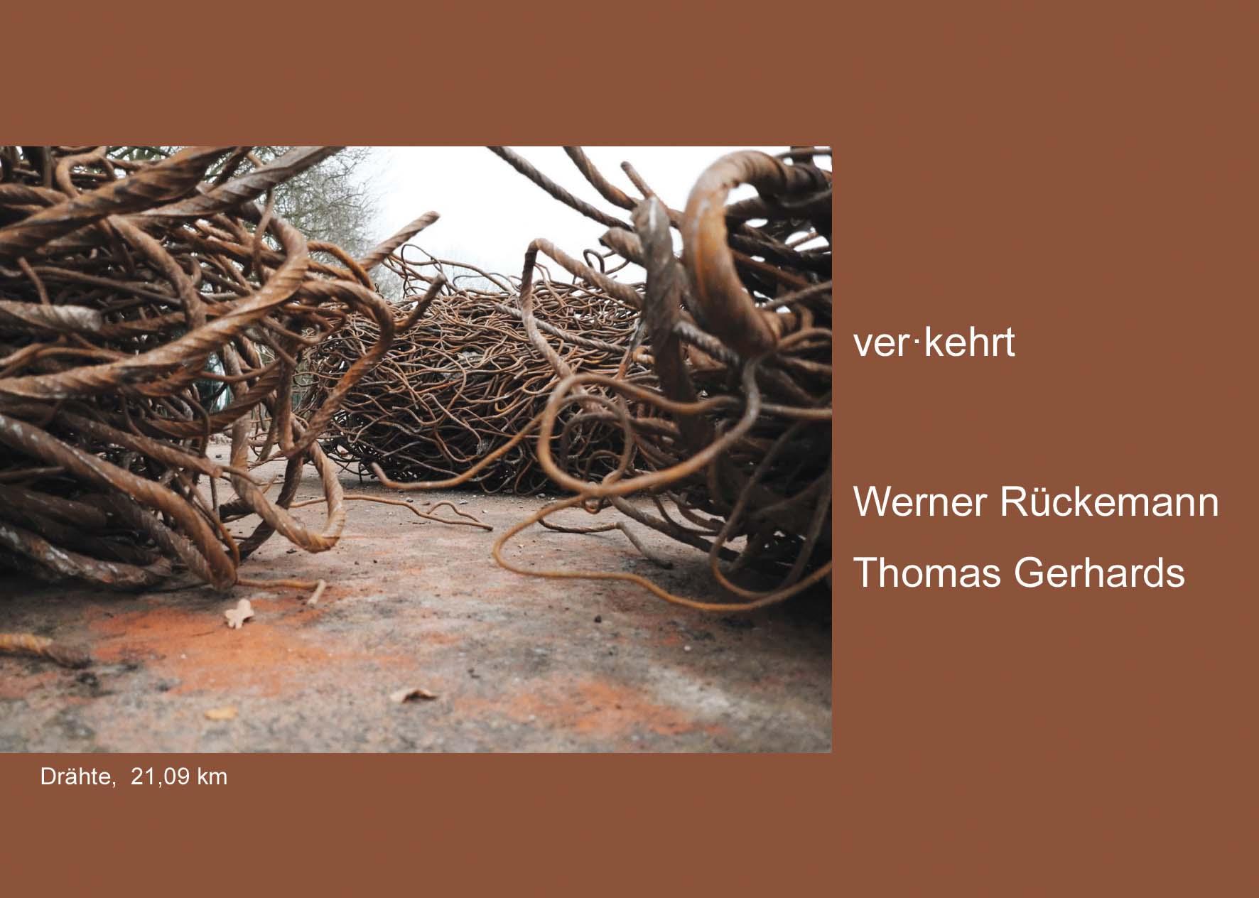 Eventbild für Werner Rückemann und Thomas Gerhards /// ver.kehrt