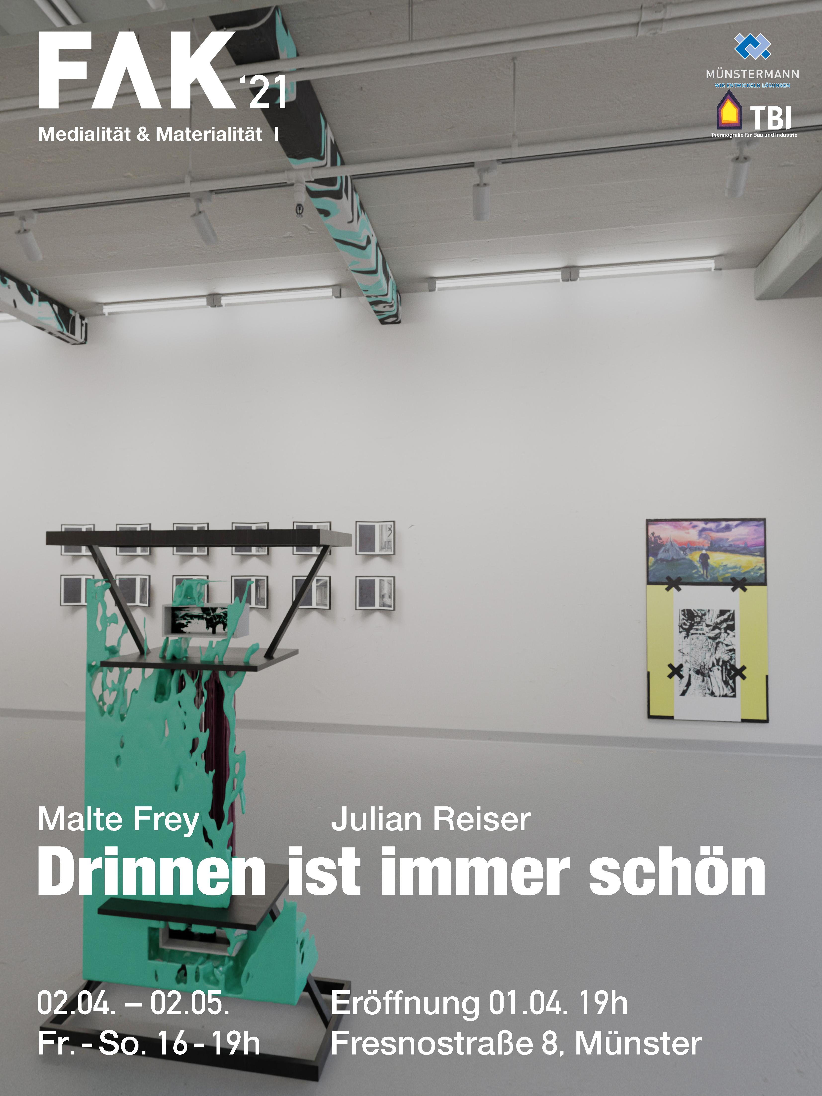 Eventbild für Malte Frey und Julian Reiser /// Drinnen ist immer schön