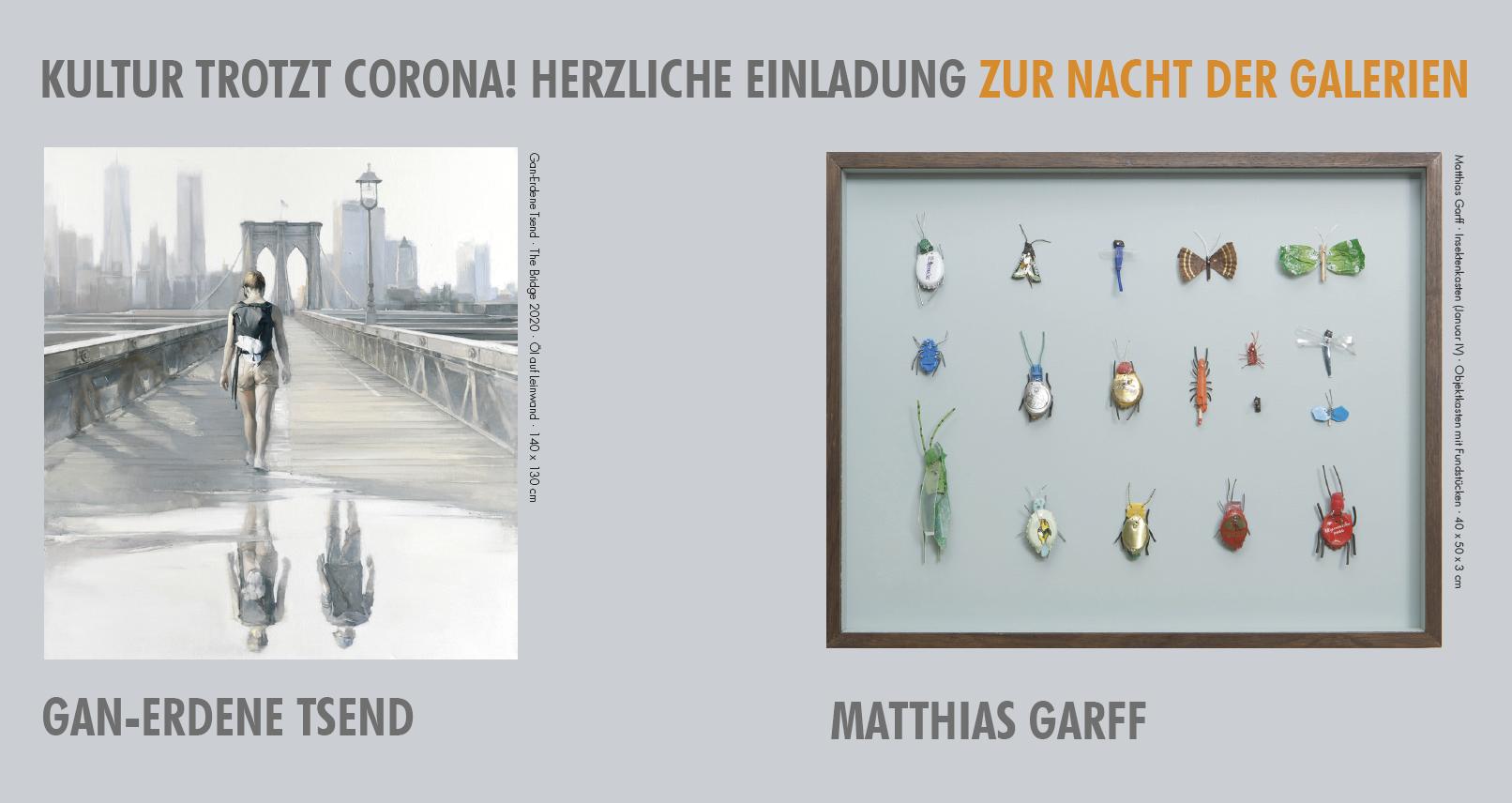 Eventbild für Gan-Erdene Tsend und Matthias Garff /// NACHT DER GALERIEN