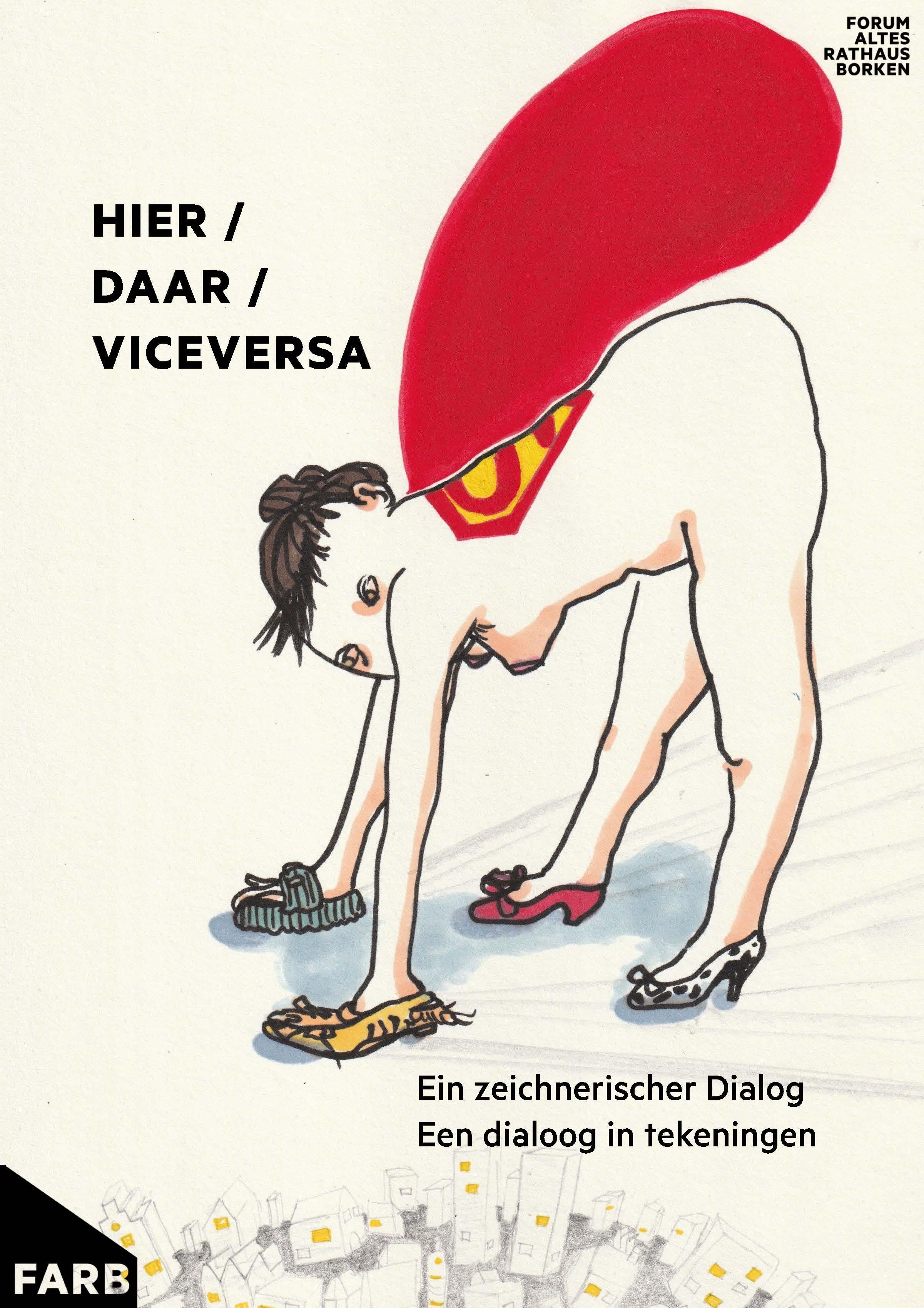 Eventbild für Danielle Spoelmann, Wiebke Bartsch /// Hier / Daar / Viceversa Ein zeichnerischer Dialog