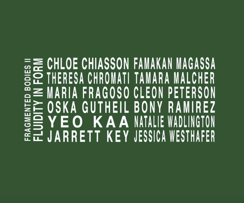 Eventbild für Tamara Malcher, Oska Gutheil, Jessica Westhafer, Maria Fragoso u.a. /// FRAGMENTED BODIES 2 – FLUIDITY IN FORM