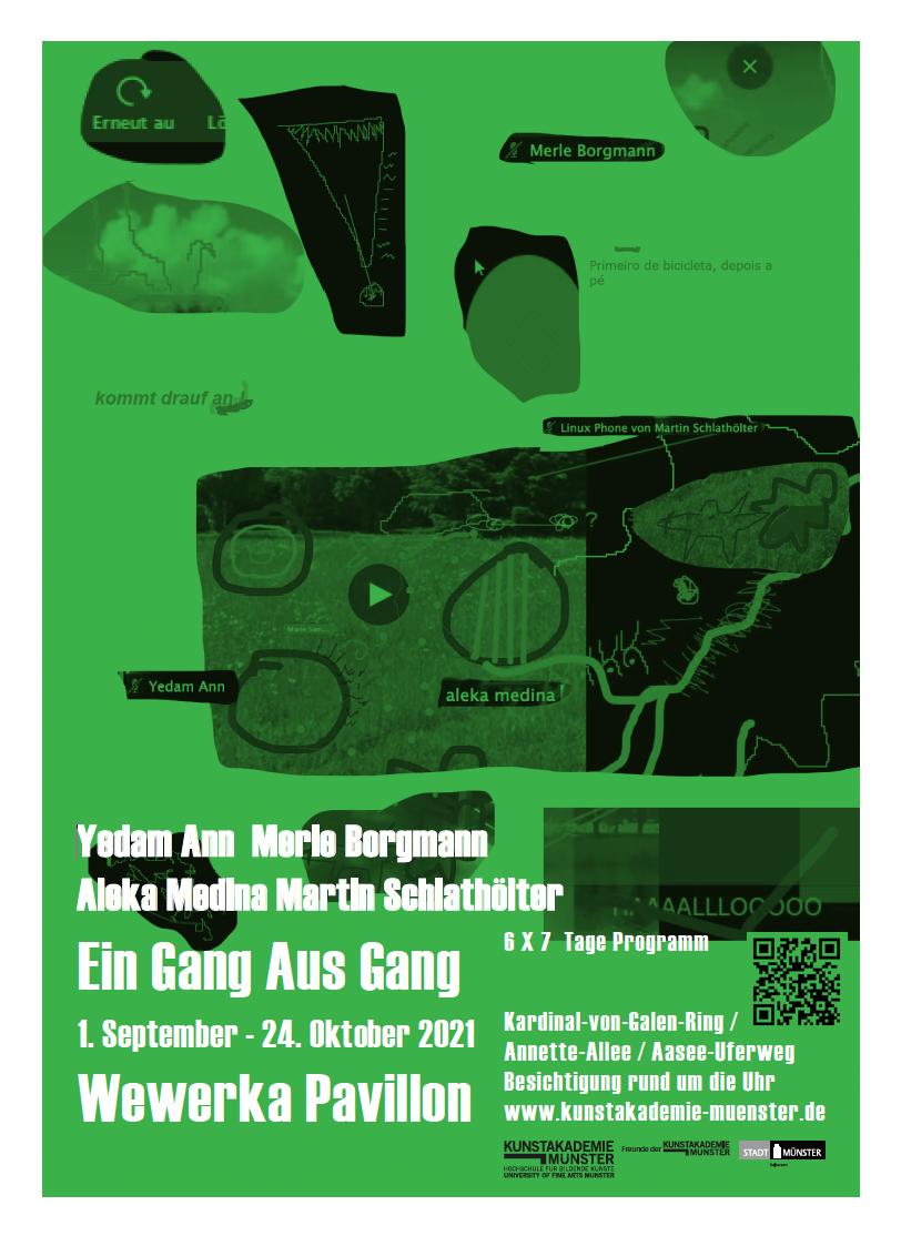Eventbild für Aleka Medina, Martin Schlathölter, Merle Borgmann und Yedam Ann /// Ein Gang Aus Gang