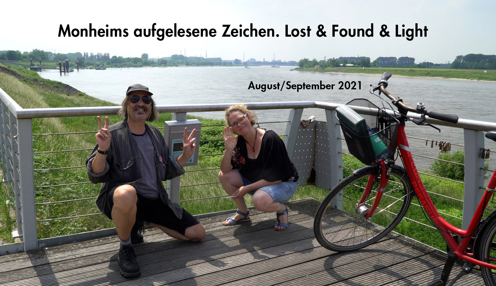 Eventbild für Nicola Dicke u.a. /// Monheims aufgelesene Zeichen. Lost & Found & Light