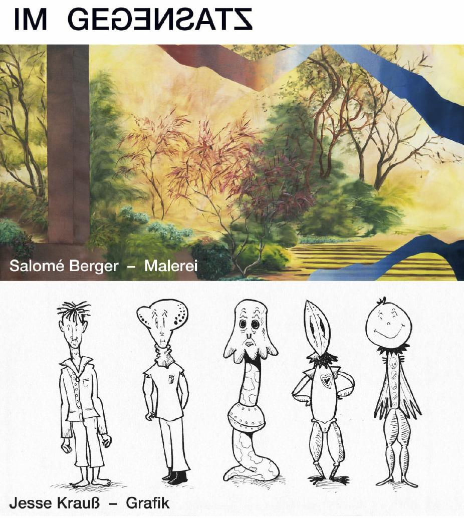 Eventbild für Salomé Berger, Jesse Krauss /// Im Gegensatz