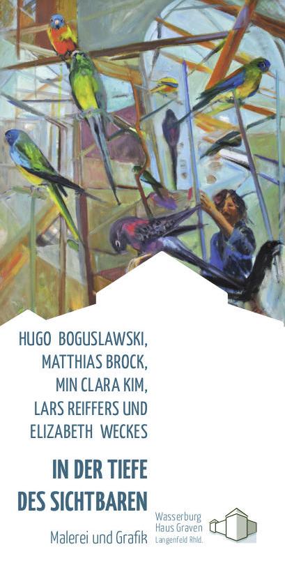Eventbild für Hugo Boguslawski, Min Clara Kim u.a. ///  In der Tiefe des Sichtbaren