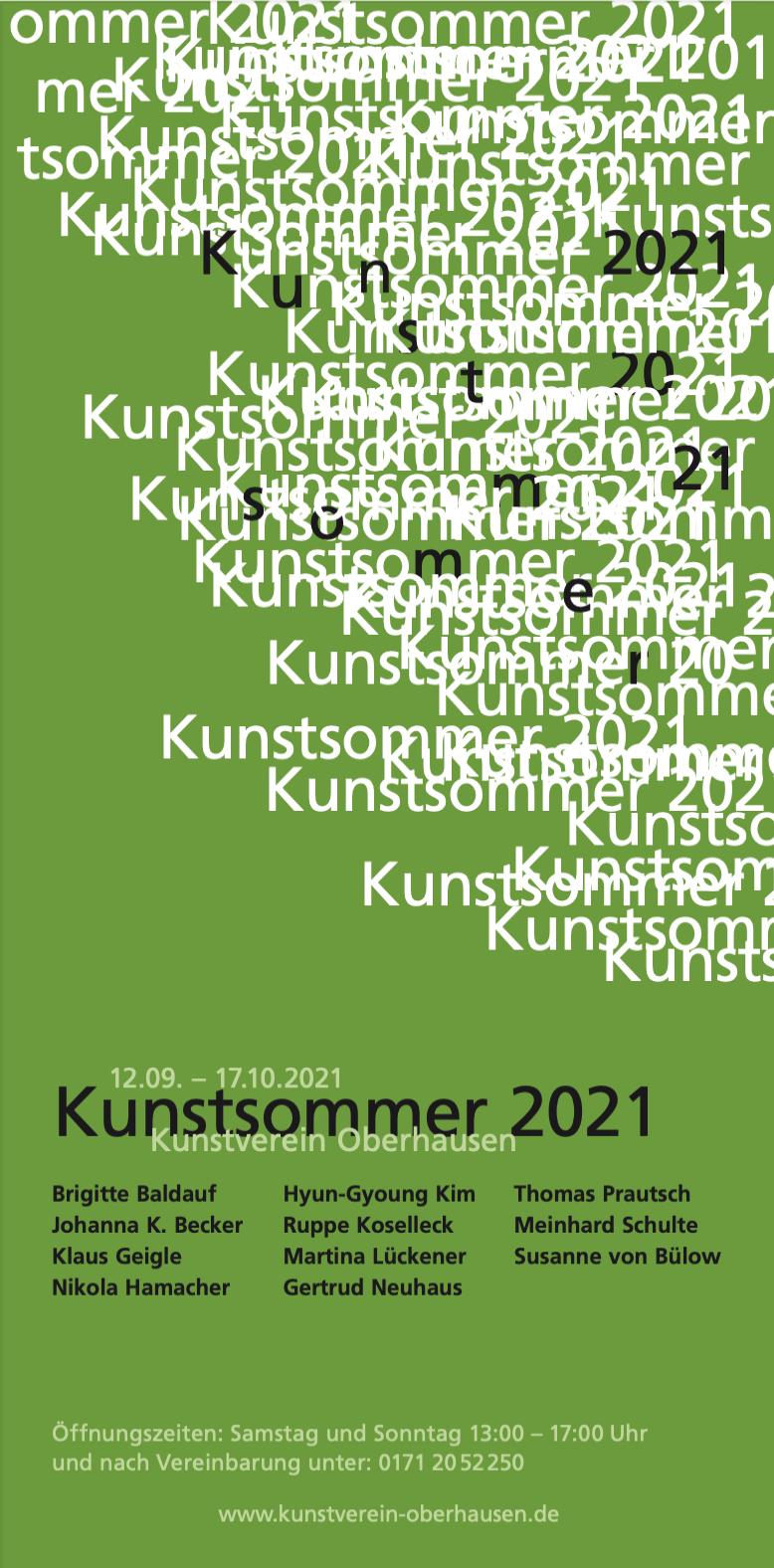 Eventbild für Ruppe Koselleck, Martina Lückener, Gertrud Neuhaus u.a. /// Kunstsommer 2021