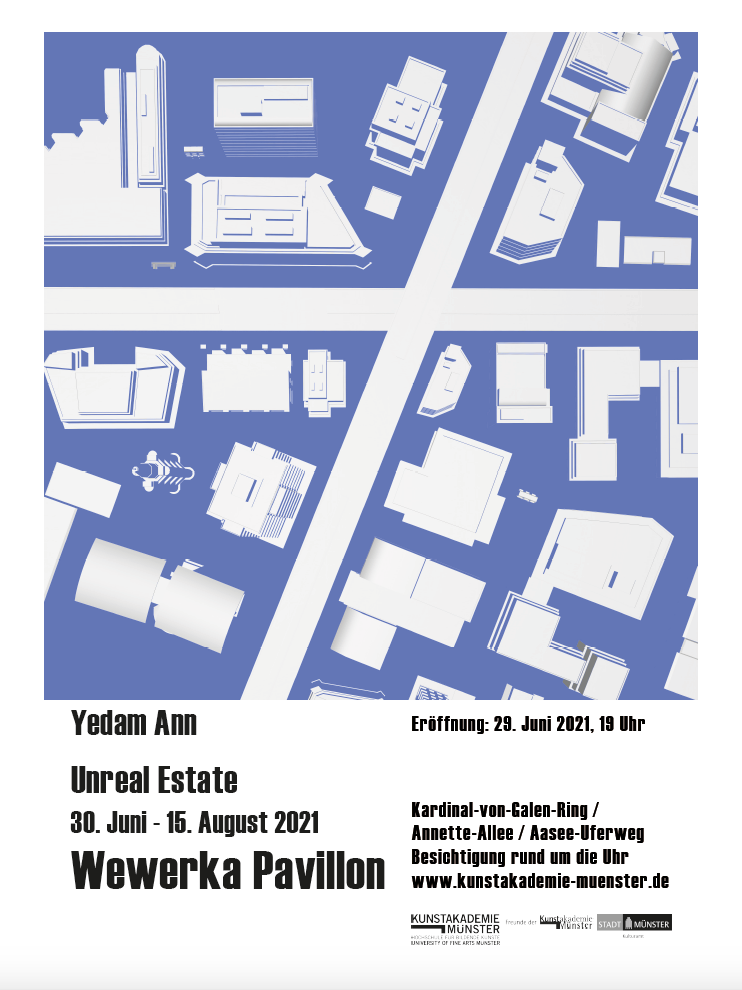 Eventbild für Yedam Ann /// Wewerka Pavillon /// Unreal Estate