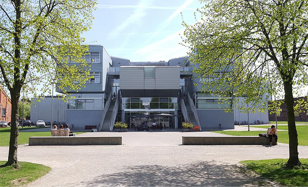 Außenansicht der Kunstakademie Münster