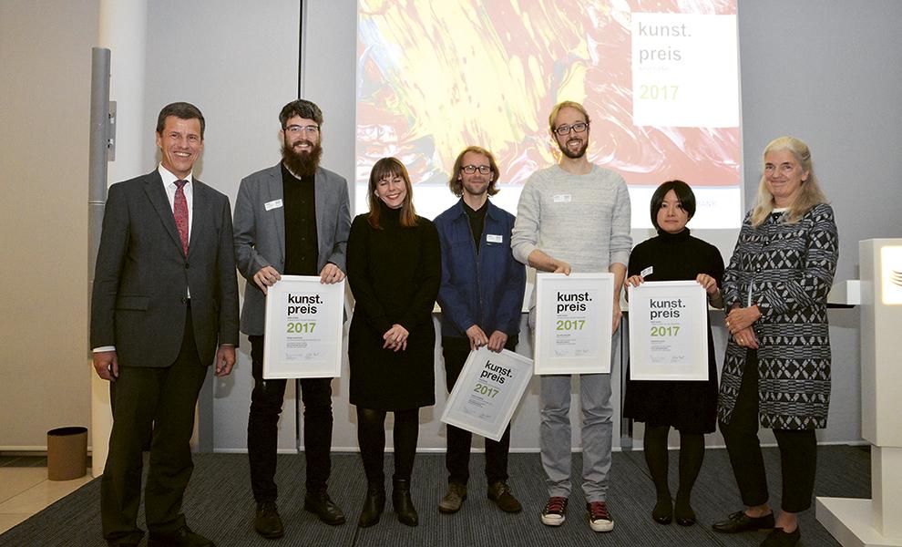Preisverleihung NRW.Bank Kunstpreis 2017