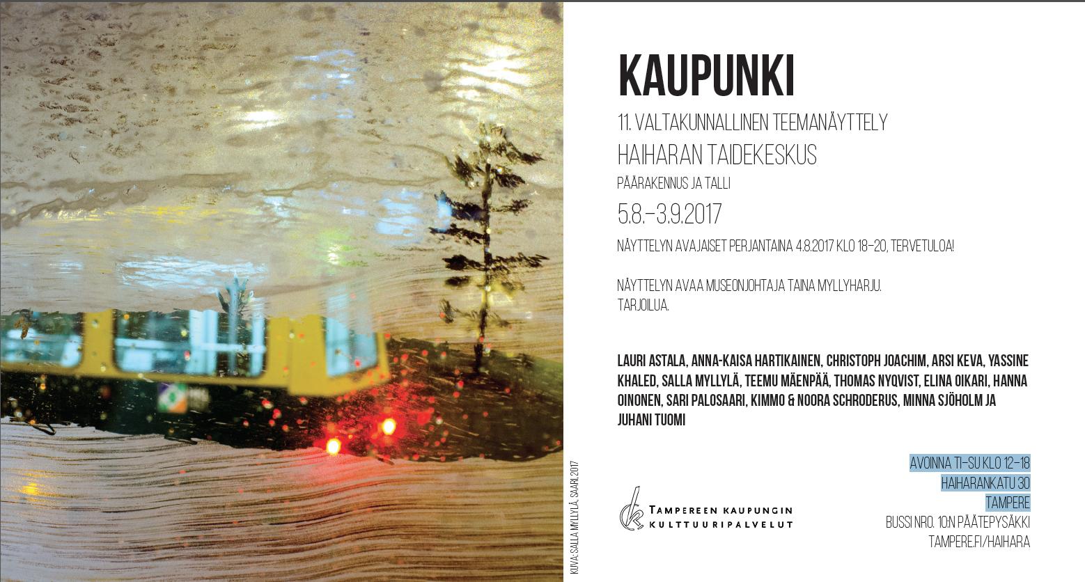 Eventbild für Christoph Joachim u.a. // KAUPUNKI