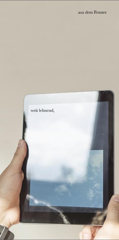Eventbild für Alexander Rütten und  Jana Kerima Stolzer // weit lehnend, aus em Fenster