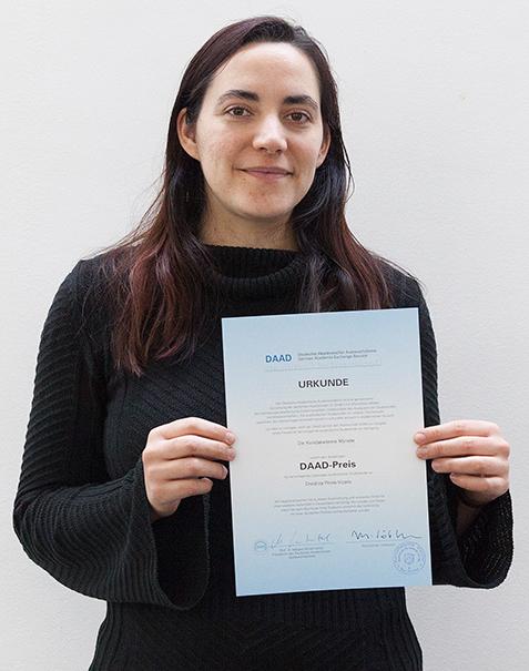 Eventbild für Cristina Prims Vicario erhält DAAD-Preis der Kunstakademie Münster