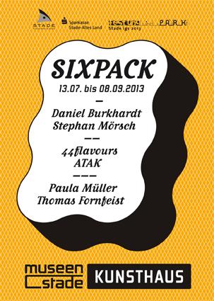Eventbild für Paula Müller und Thomas Fornfeist // SIXPACK. 3 X 2 POSITIONEN ZEITGENÖSSISCHER KUNST