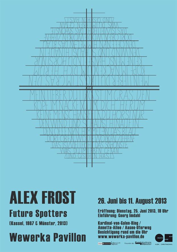 Eventbild für Alex Frost // Future Spotters (Kassel, 1987 & Münster, 2013)