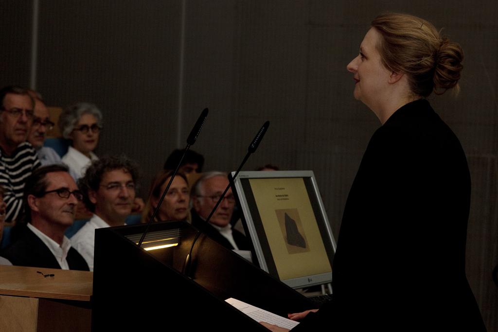 Eventbild für Prof. Dr. Claudia Blümle, Kunstakademie Münster, Antrittsvorlesung