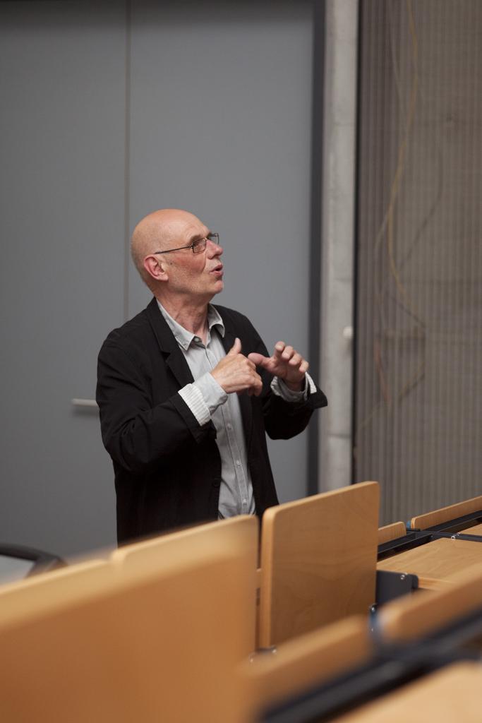 Eventbild für Münster Lectures // Rüdiger Lubricht, Künstler, Worpswede